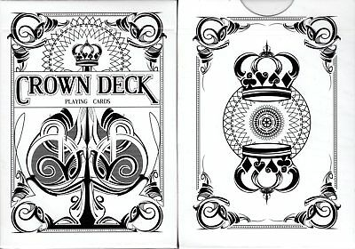 Crown Deck Snow White Playing Cards Poker Size USPCC Custom Limited New Sealed - Snow White Custome