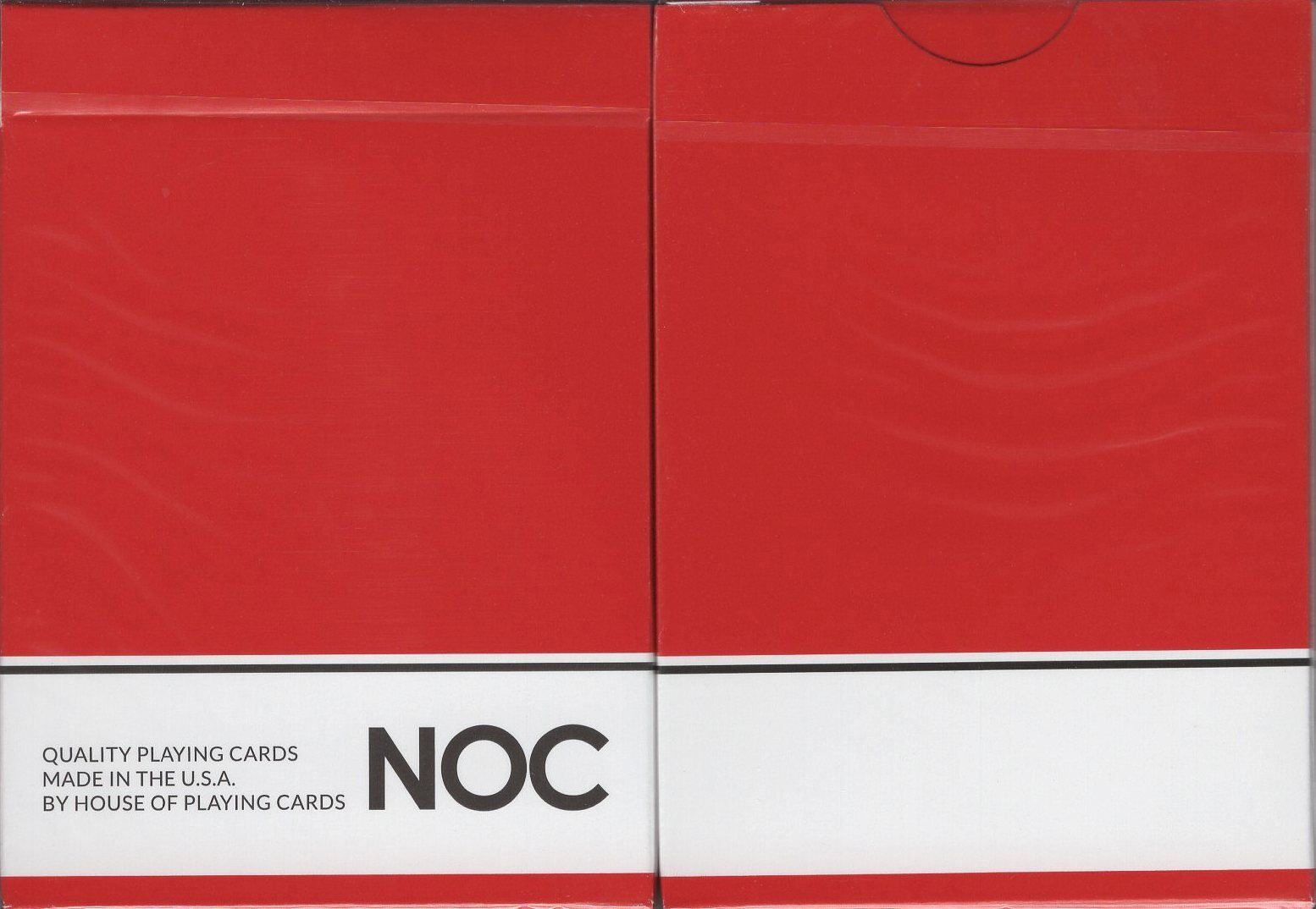 NOC On Wood Brown Playing Cards Poker Size Deck USPCC Custom Limited New Sealed