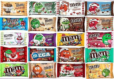 New  Mars M Ms Limited Edition Flavors Chocolate Candies You Pick Candy M Ms