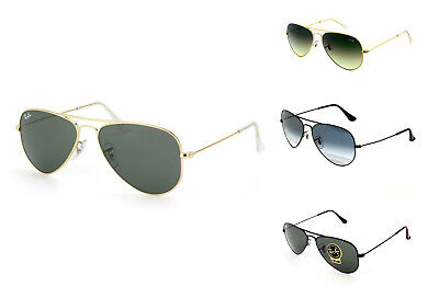 Brand New!! Ray-Ban Aviator Small Metal Sunglasses - RB3044