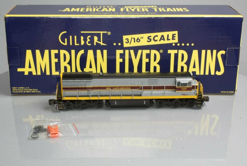 American Flyer 6-48142 S Scale Erie Lackawanna U33C Diesel Locomotive #3320 NIB