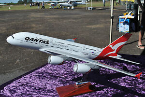 Model Plane 47cm Qantas A380 Airplane Aeroplane