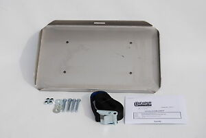 Stainless-Steel-Dual-Battery-Tray-MINUS-BOX-suits-Mazda-BT50-Ford-PX-Ranger