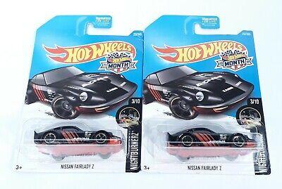 Hot Wheels Nissan Fairlady Z Nightburnerz Advan Lot of 2