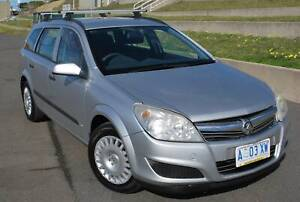 2007 HOLDEN ASTRA CD WAGON - AUTOMATIC - IDEAL FIRST CAR North Hobart Hobart City Preview