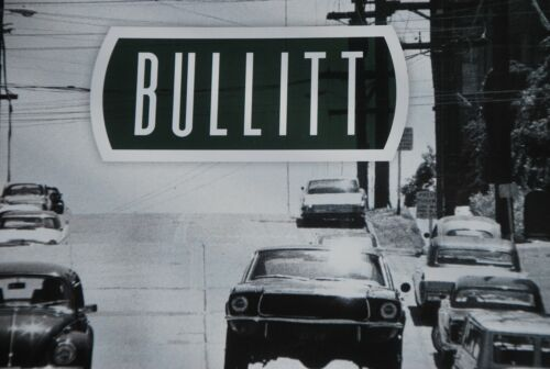 BULLITT MUSTANG Book, New.