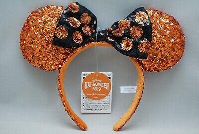 2019 Halloween Minnie Mouse Costume (Tokyo Disney Resort Halloween 2019 Headband Minnie Spangle Sequins Costume)