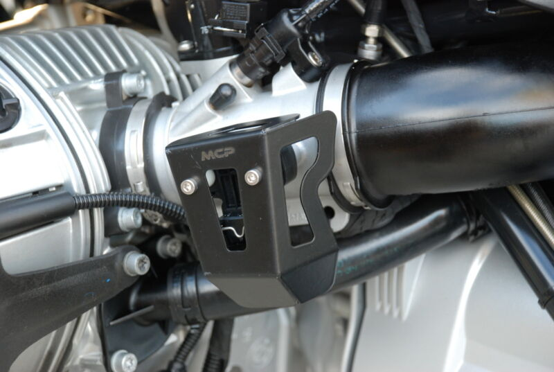 BMW GS1200 05-12 Throttle Position Sensor Black Powder Coated Protector Guard