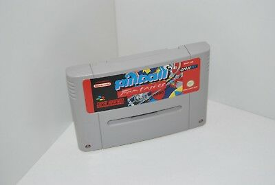 Super Nintendo - SNES - Pinball Fantasies - Modul - Top Zustand