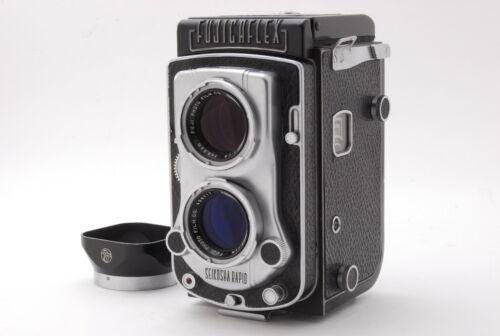 Fujicaflex Fuji TLR Film Camera Fujinar 8.9cm F2.8 from japan #486