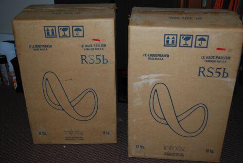 Pair Vintage Infiniti RS5B Stereo Speakers NOS w/Original Boxes SPLIT $ SHIPPING