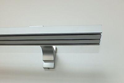 """Gardinenschiene aus Aluminium """"Easy Line"""" Wandmontage auch für Flächenvorhänge"""