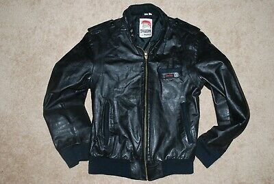 - Men's Spartan by ROCKY Genuine Leather Motorcycle Jacket (Size 40, Small)