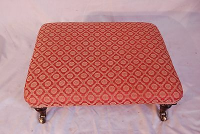 Upholstered large Foot Stool