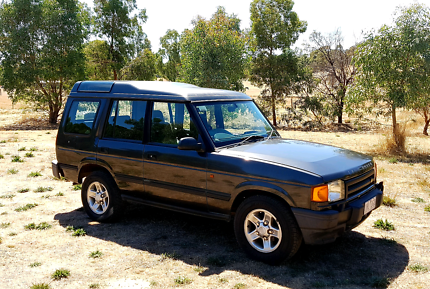 1998 Land Rover Discovery 1 V8 Manual
