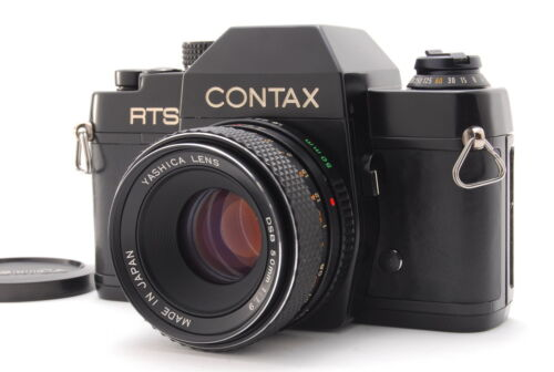 【N MINT】Contax RTS 35mm SLR Film Camera 50mm f/1.9 From JAPAN