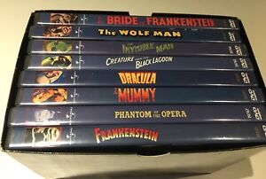 Classic Monster Collection DVD set - rare