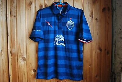 5/5 BURIRAM UNITED 2013 CUP SHIRT FOOTBALL JERSEY THAILAND Sz S camiseta maglia image
