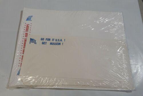 Iraq War Stationery Set  Paper  & Envelopes  Get Hussein