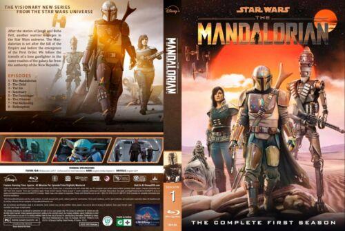The Mandalorian Season 1 Blue ray, 8 Episodes(English Audio and Subtitles)