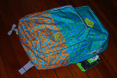 "NEW Dakine 23L Capitol Squiggles Blue Backpack w/ 15"" Laptop Sleeve"