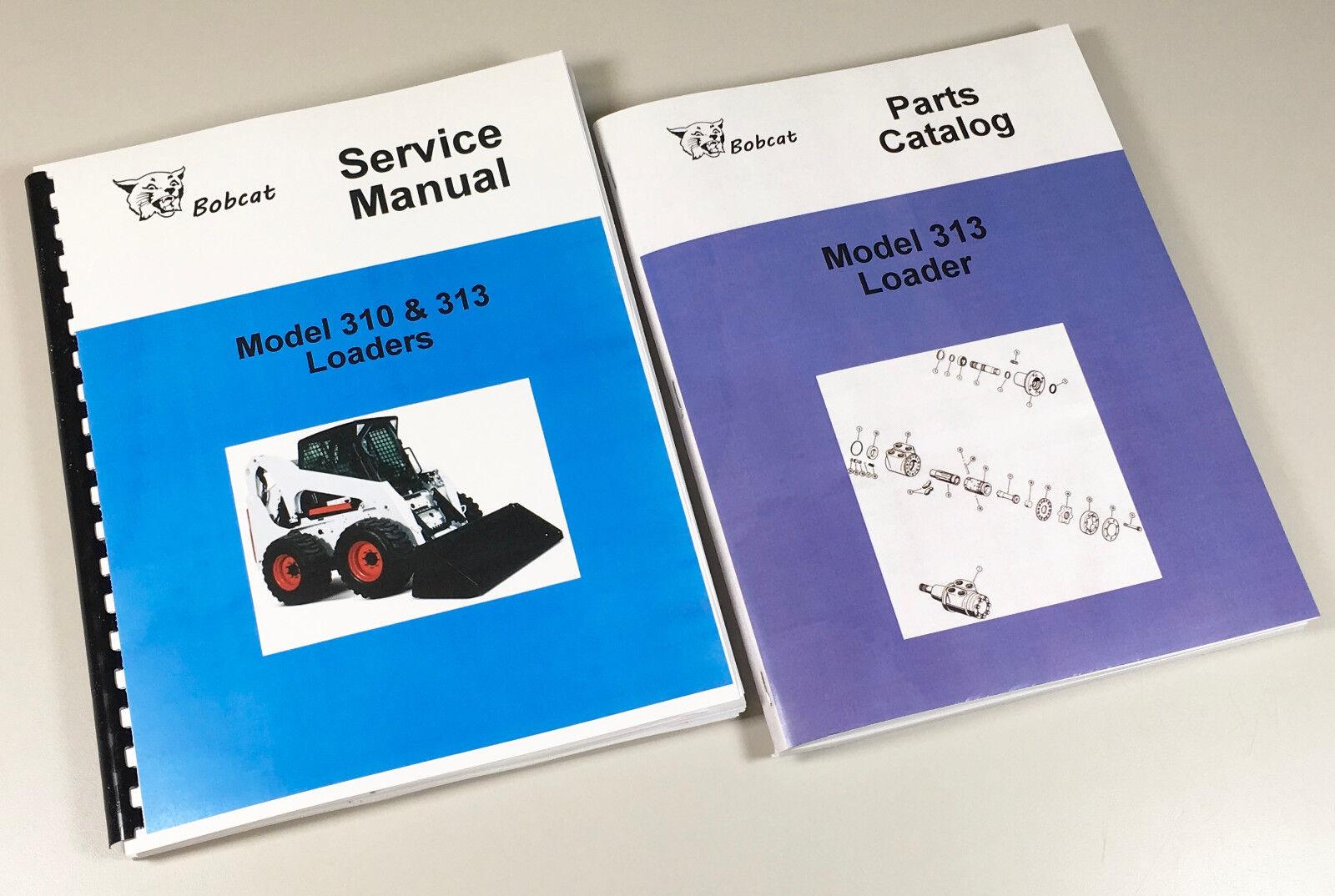 BOBCAT 843 SKIDSTEER LOADER SERVICE REPAIR MANUAL TECHNICAL SHOP BOOK OVHL