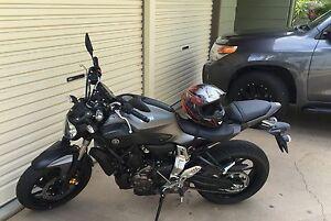2015 Yamaha MT-07 LAMS approved motorbike Rockyview Rockhampton Surrounds Preview