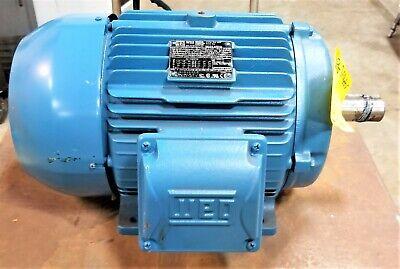 Weg W22 10 Hp 7.5 Kw Nema 215t Premium Motor 01018et3e215t-w22 D3fl