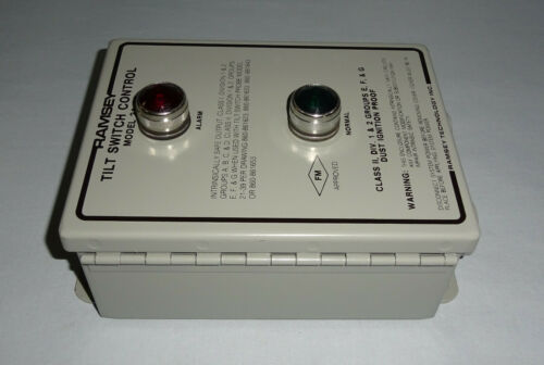 Ramsey Technology 21-38 Tilt Switch Control 2138 NEW