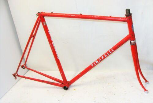 ~ Vintage Original 82 Pinarello Italia Columbus 3 Tubi S.L. 58cm Frame & Fork ~