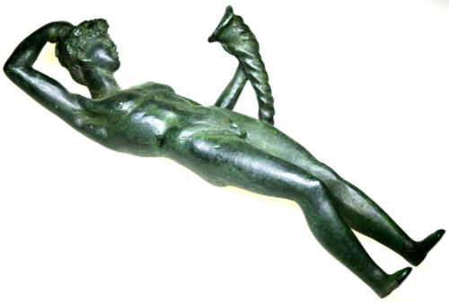 Large Greek-Roman God of Wine Dionysus Bacchus Statue Sculpture