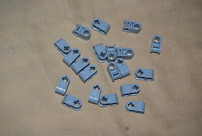 V Lego Lot 20 Light Bluish Gray Axle & Pin Connector Perpendicular 42003 9398 3L
