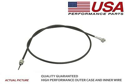 Tachometer Cable For International 340 504 Massey 65 Case 430 470 570 49-34