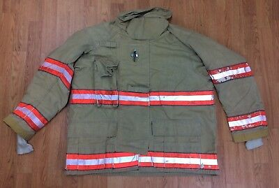 Cairns Rs1 Firefighter Turnoutbunker Coat 48 Chest X 32 Length 05