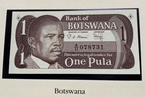 Botswana 1 Pula 1983 P-6 Crisp UNC Note