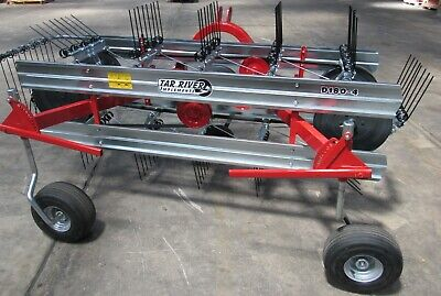 New 6 Tar River D150-3 Belt Hay Rake -free 1000 Mile Free Delivery From Ky