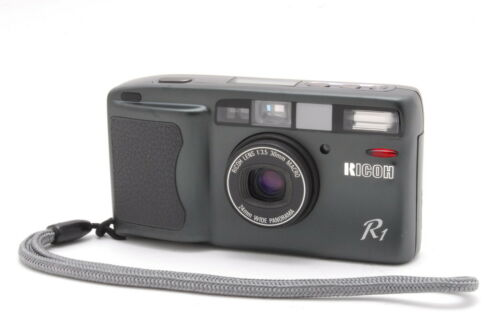 【EXCELLENT+++++】 Ricoh R1 Gray Point & Shoot 35mm Film Camera From JAPAN