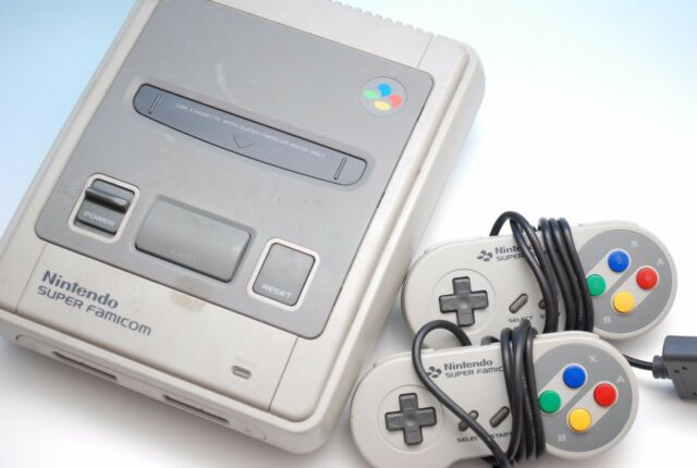 Free Shipping Super Famicom Console SNEC SFC Nintendo Japan very good condition