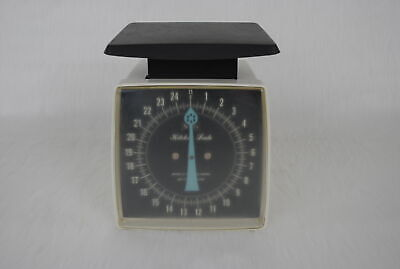 Vintage Collectible Sears 25 Pound Manual Weight Kitchen Scale