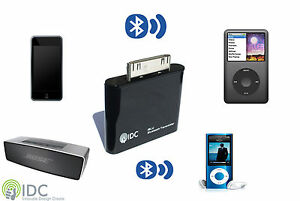 bluetooth transmitter dongle 4 ipod nano classic touch video mini shuffle ebay. Black Bedroom Furniture Sets. Home Design Ideas