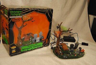 lloween Big Tarantula Animated Original Box 2008 Retired  (Original Halloween Town)