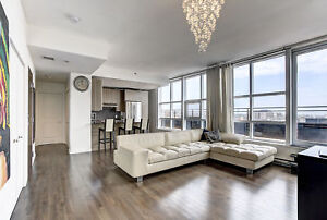 POM -downtown luxury penthouse - private terrace -3100$