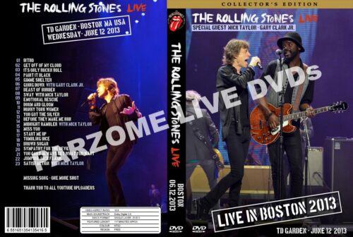 The Rolling Stones TD Garden, Boston 2013 COMPLETE!! * 2 DVDs !!