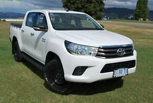 2015 TOYOTA HILUX 4X2 SR HI-RIDER DUAL CAB - ONLY 108,239 KLMS North Hobart Hobart City Preview