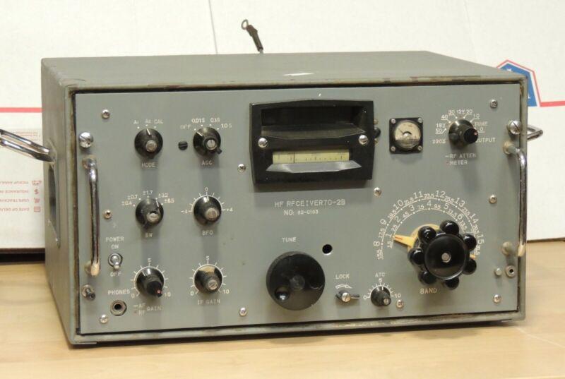 Rare Vintage Chinese? SW military transistor receiver HF RFCEIVER70-2B
