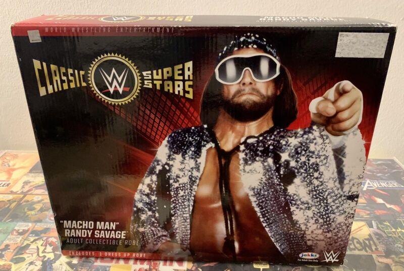 Macho Man Randy Savage WWE Adult Collectible Robe SummerSlam 89 Jakks (Used)