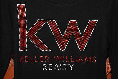 Keller Williams  Rhinestone Bling Shirt Xs S M L Xlxxl 1X  2X 3X 4X 5X Lg Logo
