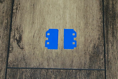 Wiper Blade 2pcs For Dx5 Print Head Blue For Roland Mimaki Mutoh Printers