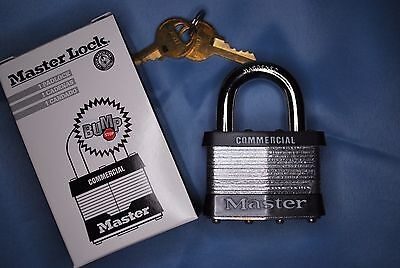Master 5n Commercial Grade Laminated Steel Padlock With Bump Stop Technology