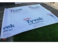 6 by 9 foot Dupont Tyvek Homewrap Ground Sheet Tarp Footprint w// Anchor Loops